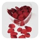 Roses - fabric confetti