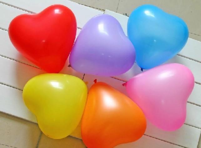 Balon srce 15 cm