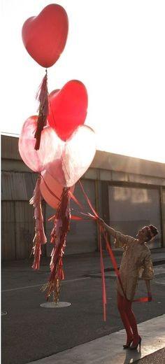 Balon srce 38 cm
